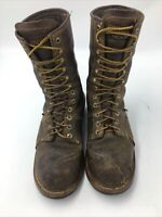 Carolina Composite Toe Linesman Waterproof Boot CA1904 Brown Men's Size 10 D