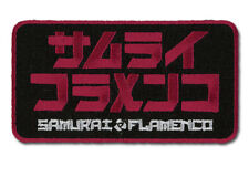 "SAMURAI FLAMENCO Patch 3.5"" x 2"" Licensed GE Animation Anime Patch 44909"