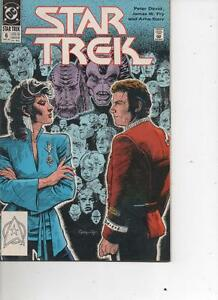 STAR TREK 6 DATED MAR 1990 GREAT STORIES FROM THE CLASSIC TV SHOW MINT