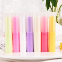 10Pcs Tubo de lápiz vacío Contenedor bálsamo plástico labial Brillo Subenvas*ws