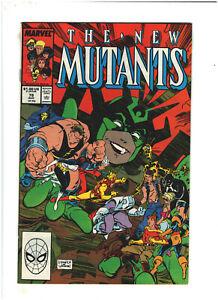 New Mutants #78 VF+ 8.5 Marvel Comics 1989 vs. Freedom Force
