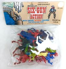 SEALED - Vtg Western set Cowboys and Indians Toys Collection Plastic Horses #A24