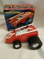 Vintage 1970 Topper Toys Zoomer-Boomer Midget Racer Silly Slicks #7201 New