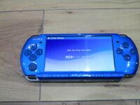 Sony PSP 3000 Console Vibrant Blue Japan M969