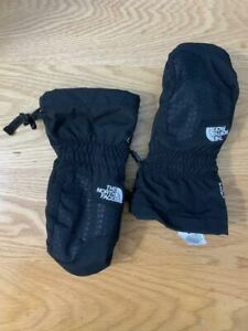 *NEW* THE NORTH FACE YOUTH/ JUNIOR SIZE MEDIUM HYVANT SKI/ SNOW MITTENS BLACK