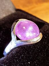 amethyst Healing Properties silver cabochon ring 7 us
