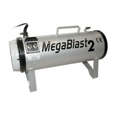 More details for megablast 2 powerful pet grooming blaster with 3 speed settings, silver