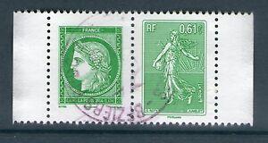 PAIRE 4908-4909 HORIZONTALE OBLITEREE  - ISSUE DE CARNET ... #5
