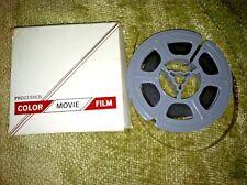 Vintage Color Movie Processed Film Titled Anthony Naval Reserve Boat Graduation