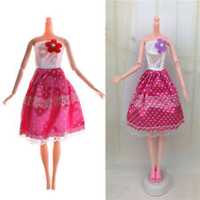 Handmade Doll Lovely Dress For Barbie Doll Party Daily Wear Clothing VP