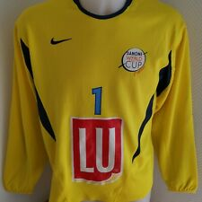 maillot  de football gardien ADIDAS DANONE CUP vintage N°1Taille S NIKE