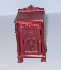HANSSON DELUXE CARVED NIGHT STAND CA02503HGR  MINIATURE DOLL HOUSE FURNITURE