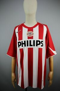 PSV Eindhoven Nike Philips 2004/2006 HOME FOOTBALL JERSEY ADULT SHIRT Size XL
