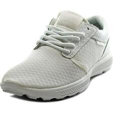 Zapatillas deportivas de mujer de tacón medio (2,5-7,5 cm) de color principal blanco de piel
