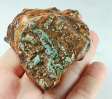 505.5Ct Natural High-hardness American Green Blue Turquoise Rough Specimen YBL67