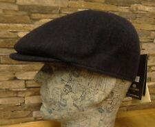 Failsworth Blue 100% Wool Tweed 6 Piece Cap Moon Cloth Size 7 1/2 New
