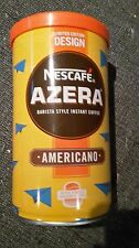 Nescafe Azera Limited Edition Design Designer Coffee Tins EMPTY/Paper/Planes