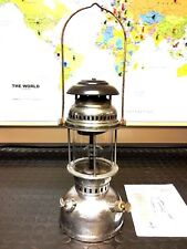 Portuguese Hipolito 250 CP Pressure Lamp Paraffin Kerosene Lantern all original