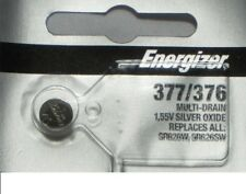 One Pc Fresh ENERGIZER Silver Oxide WATCH Battery 1.55v CR376 CR377 CR 376 377