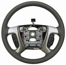 2013-16 GMC Acadia Enclave Steering Wheel Dark Titanium Leather New OEM 22833225