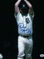 Denny McLain Signed 8X10 Photo Autograph Tigers Hands Over Head Auto COA