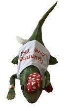 "Vintage Gemmy Industries Iguana Lizard Animated Singing Talking ""Iguanna Love U"""