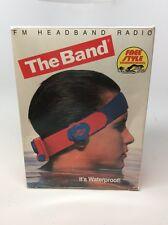 THE BAND FM Headband Radio Water Proof Wireless Floatable