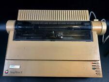 Vintage Apple ImageWriter II Dot Matrix Printer ~ Image Writer 2