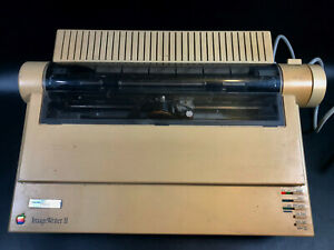 Vintage Apple ImageWriter II Dot Matrix Printer ~ Image Writer 2