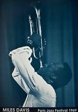 Miles Davis Paris Jazz Festival 1969 Poster 24 x 34