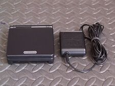 Nintendo Game Boy Advance SP Black onyx Handheld System AGS101 BRIGHTER MODEL
