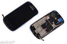 DISPLAY LCD + TOUCH SCREEN VETRO ASSEMBLATO PER SAMSUNG GALAXY S3 MINI I8190 BLU