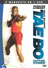 Billy Blanks - Tae Bo: Foundation and Energy (DVD, 2004) - **DISC ONLY**
