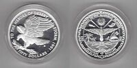 MARSHALL ISLANDS – SILVER PROOF 50$ COIN 1991 YEAR KM#42 HEROES OF DESERT STORM
