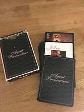 MINT Agent Provocateur deck of sexy playing cards set for Men The Arena!!!