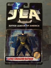 1999 DC JLA BATMAN -CAPED CRUSADER VERSION-CLEAN. MISP HASBRO 1 Of 3 -LOOK!!