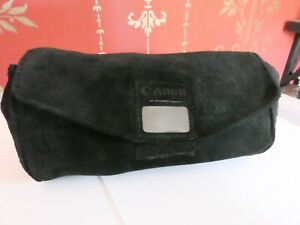 Genuine Canon Lens Pouch Suede LS-A18 for 35-70mm f2.8-3.5 70-150mm 200mm f4 FD