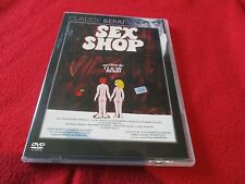 "DVD ""SEX SHOP"" Claude BERRI, Jean-Pierre MARIELLE, Juliet BERTO"