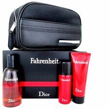 Christian Dior FAHRENHEIT Gift Set: EDT 100ML+Shower Gel 50ml+Deodorant 75ml Box