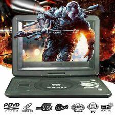 "13,9"" Tragbar Mobile DVD HD Player 270° Drehbar mit Game TV FM Radio Funktion DE"