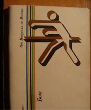 Programme-guide Olympic Games 1980 Moscow USSR - Boxing