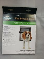 PetSafe Pet Dog Cat Screen Door Small 1-30 lb Easy Install Opening 8 X 9-1/4