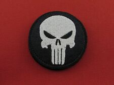 Punisher Skull Morale Tactical Embroidered Hook & Loop Patch