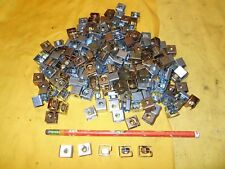 LOT of 186 10-32 CAGE NUTS machine  server frame rack mounting
