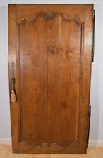 1700's Antique French Louis Xiv Period Oak Wood Cupboard/Pantry/Cabinet Door