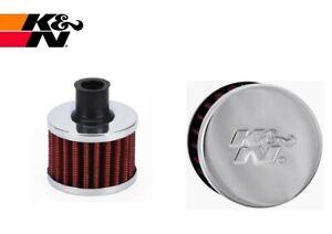 K&N performance crankcase engine filter breather 16mm 17mm 18mm 19mm