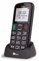 TTfone Mercury 2 Big Button Basic Senior Mobile Phone Simple Unlocked Sim Free