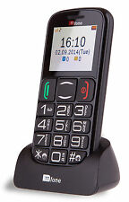 TTfone Mercury 2 Big Button Basic Senior Mobile Phone Simple Unlocked Sim Free