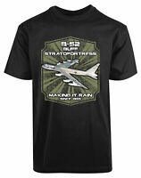 B52 Buff Stratofortress Making It Rain Since 1955 New Men's Shirt Stylish Gift