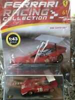 FERRARI 612 CAN-AM ROAD AMERICA AMON 1969 1:43 FERRARI RACING C.#61 Mib DIE-CAST